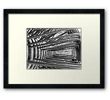 Elements of Time Framed Print