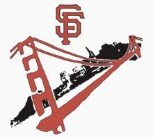 San Francisco Giants Stencil T-Shirt
