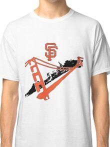San Francisco Giants Stencil Classic T-Shirt