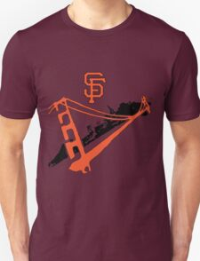 San Francisco Giants Stencil T-Shirt