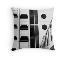 Parking Lot Geometry Throw Pillow