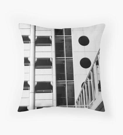 Parking Lot Geometry Throw Pillow