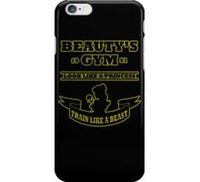Beauty Gym iPhone Case/Skin