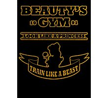 Beauty Gym Photographic Print