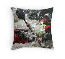 Wall of Water Throw Pillow