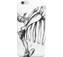 Annotated Skeleton #1 iPhone Case/Skin