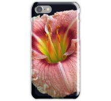 Touch of Green Daylily iPhone Case/Skin