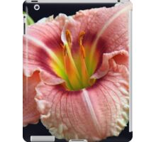 Touch of Green Daylily iPad Case/Skin