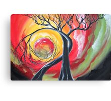 Original SURREAL landscape by ANGIECLEMENTINE Canvas Print