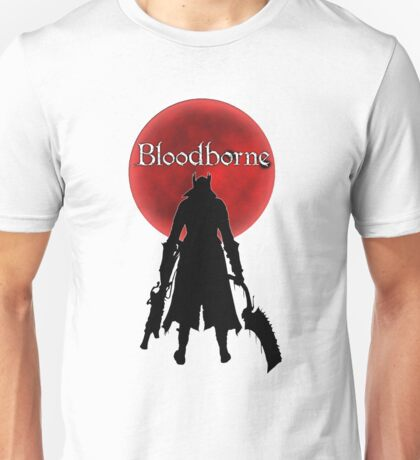 Bloodborne Red Moon Logo Unisex T-Shirt