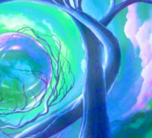 Surreal Landscape - Inner Peace by ANGIECLEMENTINE Sticker