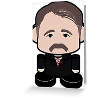 Axelrod Politico'bot Toy Robot 1.0 Greeting Card