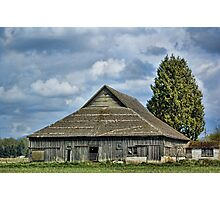 Skagit Barn Photographic Print