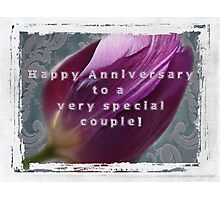 For Jerry and Sherry~Happy Anniversary Photographic Print