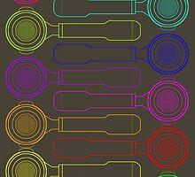Portafilter Colors by Barista