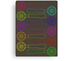 Portafilter Colors Canvas Print