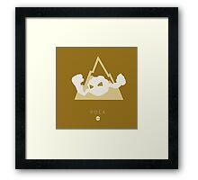 Pokemon Type - Rock Framed Print