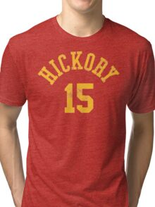 Hoosiers Movie Jimmy Chitwood Jersey Tri-blend T-Shirt