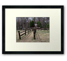 Gobblers Knob Framed Print