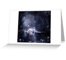 Moonlight fairy Greeting Card