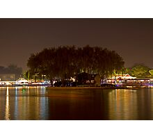 HouHai at Night Photographic Print
