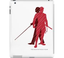The Man Without Fear iPad Case/Skin