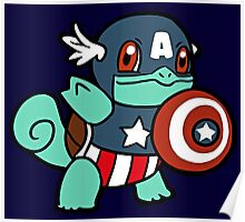 Squirtle America Poster