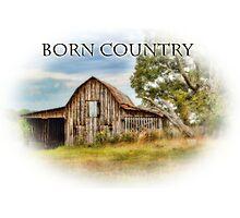 Born Country - Rural Barn Landscape - Americana Photographic Print