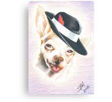 Smooth Playa Chico Canvas Print