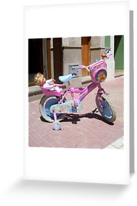 """""""Barbie Bike."""" by John  Smith"""