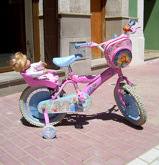 """Barbie Bike."" by John  Smith"