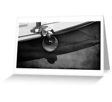 Starboard bow Greeting Card