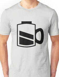Coffee Recharge - Black Print Unisex T-Shirt