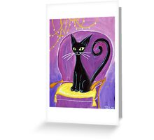 Salty little trickster Greeting Card