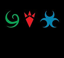 Hylian emblems by candymoondesign