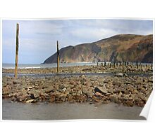 Lynmouth Beach IX Poster