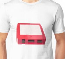 Red Eight Track Tape Unisex T-Shirt