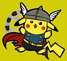 Pika Thor by luterocleric