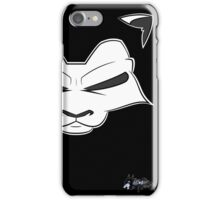 Ink Lion Gaze iPhone Case/Skin