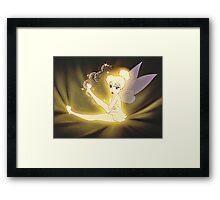 Moody Tinker Bell! Framed Print
