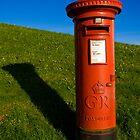 George V Pillar Box, Plymouth Hoe, Devon. U.K. by Jeremiah