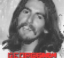 GEORGE HARRISON IN LEGO LAND(C2015) by Paul Romanowski