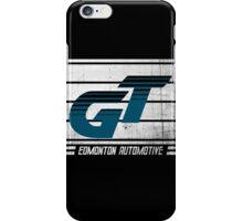 Edmonton Auto - Teal & White iPhone Case/Skin