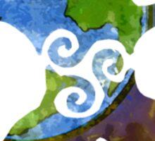 Interwoven Sticker