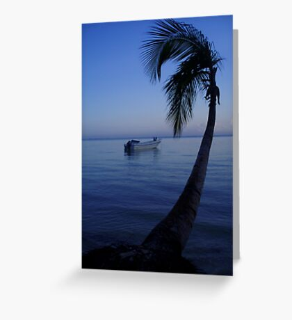 tranquil paradise Greeting Card