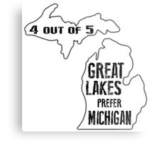 Prefer Michigan Metal Print