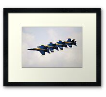 Tight Flight Framed Print