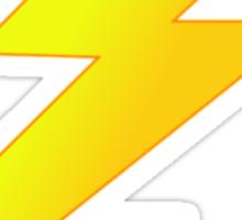 Zap Bang Cartoon Lightening Bolt Cell Phone Case Sticker