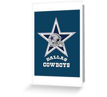Texas Dallas Cowboys Greeting Card