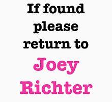 If found please return to Joey Richter Men's Baseball ¾ T-Shirt